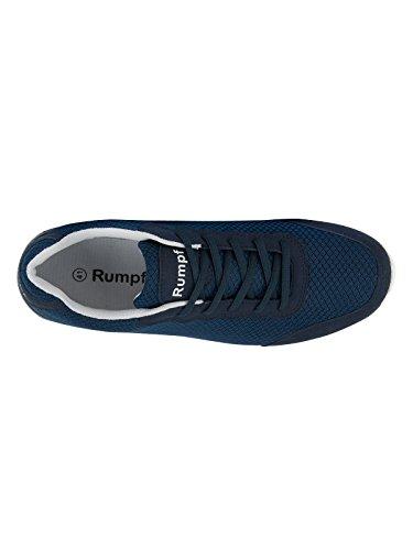 Rumpf Mobster 1620 Dancesneaker ultramoderno suola intera Hip Lindy Hop Ginnastica Sport Fitness allenamento palestra Aerobic Yoga scarpe casual colori nero grigio blu marino Blu marino