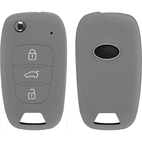 PhoneNatic Funda Silicona Mando 3 Botones KIA Sportage