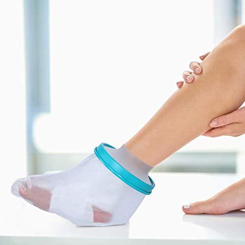 Doact Wasserdichter Gips Verbandschutz zum für Erwachsener Fuß Bad und Dusche (Füße Bad)