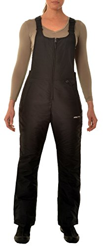 Tall Womens Ski Pants (Arctix Damen Thermo-Latzhose, Damen, 1450-00-XL, Schwarz, XL)