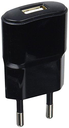 Contact LXCDU1 - Cargador de RED, con USB, color negro