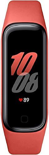 """Oferta de SAMSUNG Galaxy Fit2 Rojo con acelerómetro, giroscopio, Monitor de frecuencia cardíaca, Monitor de Entrenamiento, Pantalla AMOLED de 1,1"""", batería de 159 mAh [Versión española]"""