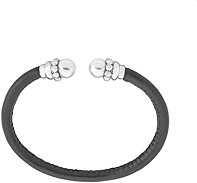 Majorica pulsera 50 x 60 cm rhodiniert, 8 mm Ronda blancas perlas, 14659.01.0.000.010.1