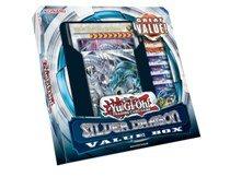 Yu-Gi-Oh Silber Dragon Wert Box (Saga von blue-eyes White Dragon Structure Deck & 6Booster Packungen & Jumbo Karte)
