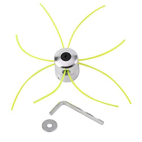 Universale Alluminio Trier Head Accessori per Tagliaerba con Linea Rondella Chiave Esadecimale