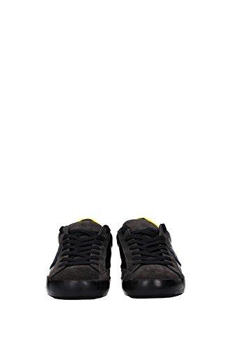 CLLUXL14 Philippe Model Sneakers Homme Cuir Noir Noir