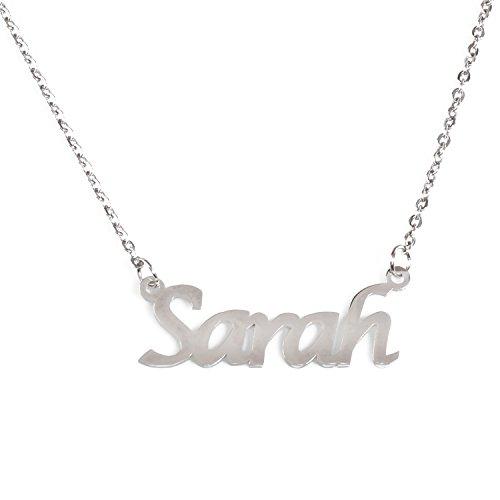 Kigu Sarah Halskette mit personalisiertem Namen, verstellbar, 40,6 cm – 48,3 cm Verpackung 7