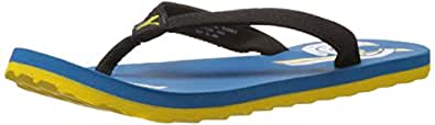 Puma Boy's Wave Jr DP. Blue Mesh Flip Flops and and House Slippers - 13C UK