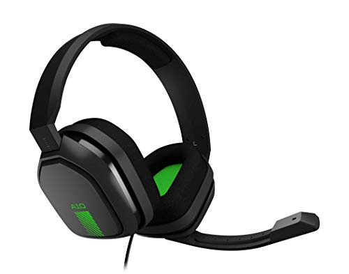 ASTRO Gaming A10 Headset (kabelgebunden, kompatibel mit Xbox One, PlayStation 4, PC, Mac) schwarz/grün