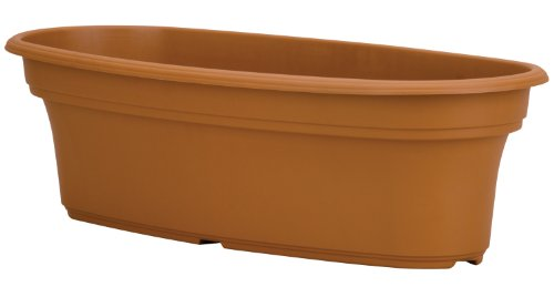 Akro-Mils Panterra PAP1600E22 Pflanzgefäß, oval, 41 cm Oval Vegetable Bowl
