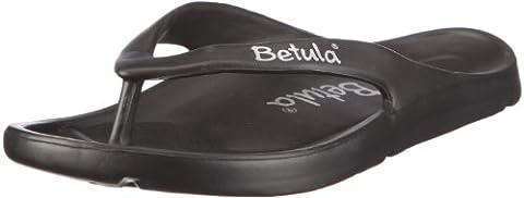Betula Energy 083661, Unisex - Erwachsene, Clogs & Pantoletten, Schwarz (black), EU 42 (UK 8) (US L 11 M 9)