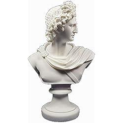 Apollo Gott Büste Skulptur antiken griechischen Gott der Sonne und Poesie