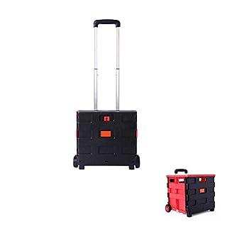 WERSDF Organizzatore del bagagliaio dell'auto, scatola di immagazzinamento dell'armadio pieghevole Auto Con leva retrattile, Rosso