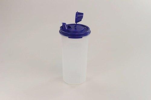 TUPPERWARE Gobelet avec bec verseur 650 ml bleu Huile et vinaigre