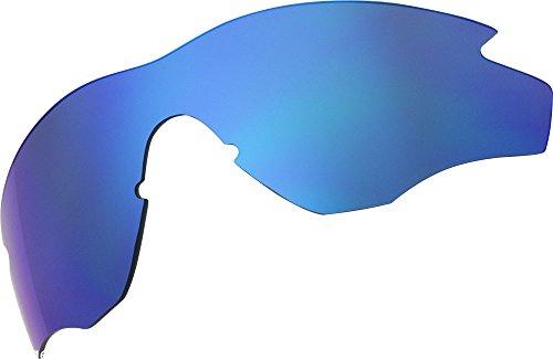 Ersatz Lenses für Oakley M2Frame Sonnenbrille, Blue Mirror