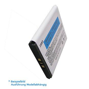 Li-Ion Akku / Ersatzakku / Handyakku für Samsung SGH - E720 / E720i Farbe: schwarz