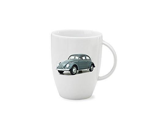 "Preisvergleich Produktbild Original VW K""äfer Bug Beetle Tasse Kaffeetasse Henkelbecher Kaffeebecher Weiß"