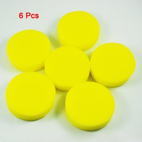 toogoo-r-6-x-esponja-redonda-amarillo-aplicador-de-cera-para-coche