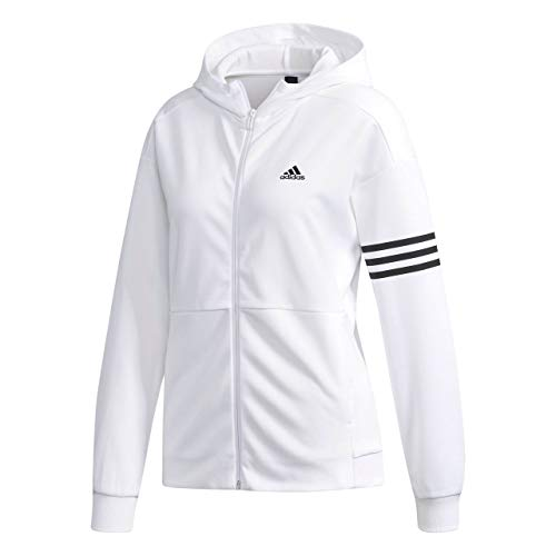 info for b056e af45d adidas Casual Veste Femme, White, FR   S (Taille Fabricant   34)