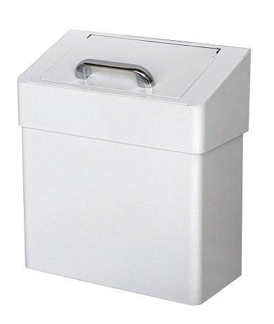 Lady Abfallbehälter Metall - Abfalleimer, Hygieneabfallbehälter für Damenbinden u. Kleinabfälle inkl. Geruchsschleuse