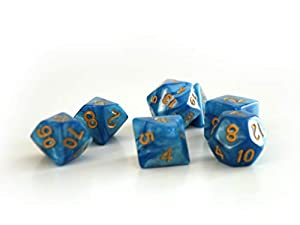 Dice4friends DIC86083 - Cubos para bebé, Color Azul