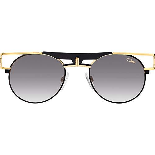24b093f4a46 Cazal Sunglasses Legends 989 001 Black Gold Grey Gradient 100% Authentic