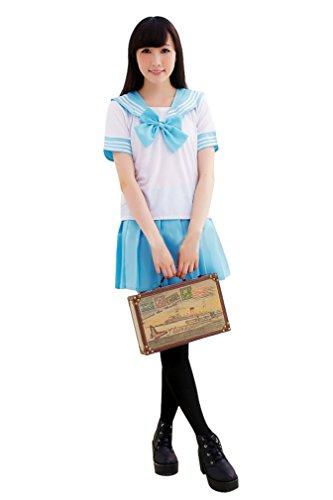 Ninimour Giappone Uniforme Scolastica Vestito Costumi Cosplay Anime Girl Lady Lolita - Spandex Uniform