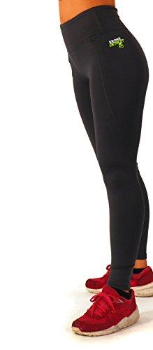 Kronk - Leggings sportivi -  donna Charcoal