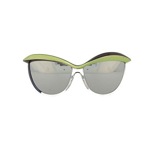 Christian Dior DIOR DEMOISELLE 1 EXO3R Womens Sunglasses Black Green Crystal - Color: Black Green Crystal