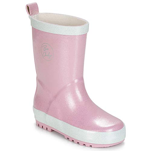 Be Only Ondine Boots Filles Pink/White Wellington Boots