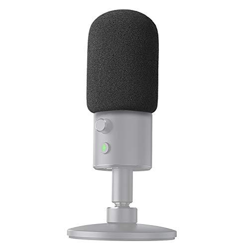 YOUSHARES Mikrofon Windschutz Schaumstoff Popschutz - Microphone Foam Windscreen Pop Filter für Razer Seiren X Streaming Microphone -