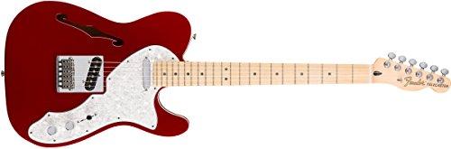 Fender 0147602309 Deluxe Telecaster Thinline Maple Fingerboard E-Gitarre Candy Apple Red