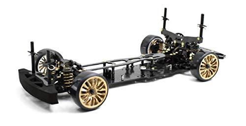 RC Auto kaufen Drift Car Bild: ABSIMA 12102 12102 Absima 1 10 RC Elektro Auto Drift Onroad DRR 01 Black 2WD Rolling Chassis, Mehrfarbig*
