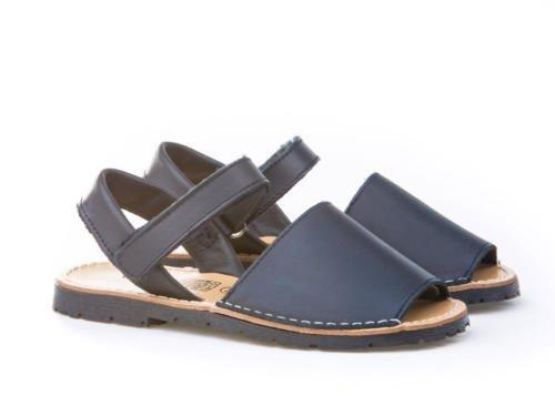 Sandales unisexe pour enfants Chaussures pour enfants. Blanc Cassé - bleu marine