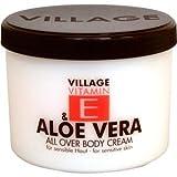 Village Pflege Vitamin E Body Cream Lemongras 500 ml
