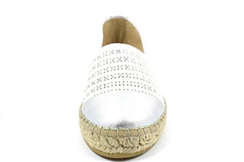 Vidorreta  00200 Blanco, Espadrilles pour femme Weiß