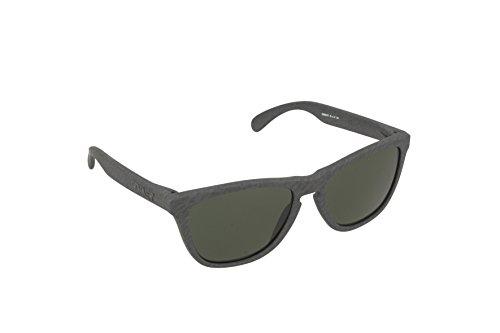 Oakley Herren Sonnenbrille OO9013-43 Frogskins (55 mm) Grau (dunkelgrau)