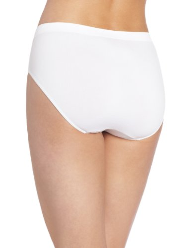 31xa6liNOZL - Bali womens2990Microfiber Hipster Short Sleeve Hipster Panties - White - 8/9 UK