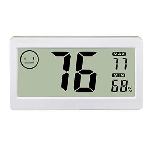Dealswin Mini Thermo-Hygrometer digital Raumklimakontrolle durch Thermometer und Hygrometer anziegen tragbar mit Komfortzonenanzeige, °C/°F Schalter