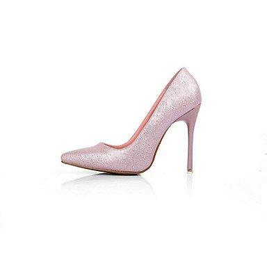 Moda Donna Sandali Sexy donna tacchi Primavera / Estate / Autunno / Inverno tacchi PU Outdoor Stiletto Heel altri nero / rosa / Altri White
