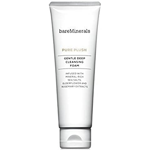 bareMinerals Pure Plush Gentle Deep Cleansing Foam, 4.2 Ounce by