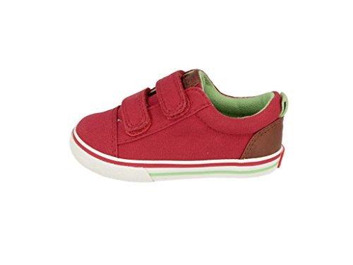 Gioseppo Doki bambino, tela, sneaker bassa Rosso