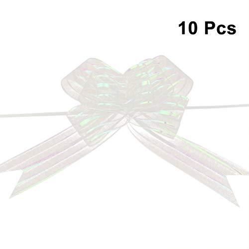 Healifty - Lote 10 cintas hacer lazos boda, decoración