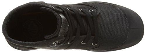 Palladium Hi Kansas F, Chaussures hautes femme Noir (315/Black)