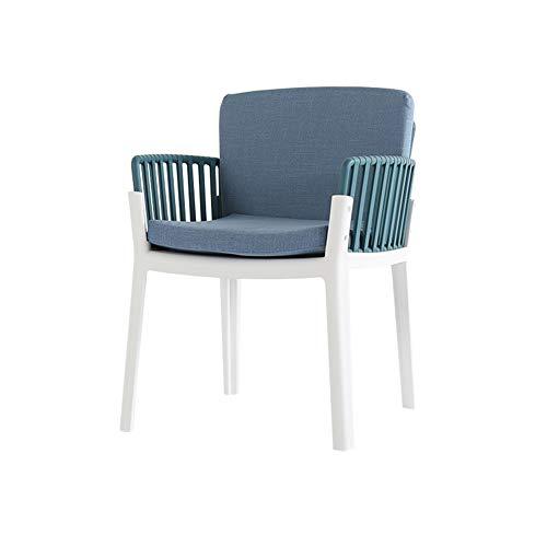 L.BAN Baumwollleinen Essstühle PP Kunststoffrahmen Sessel Bürostühle Besprechungsraum Stühle Empfangsstühle