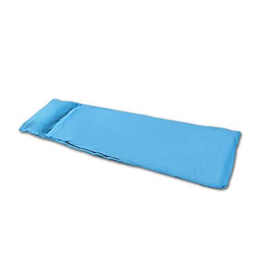 Jinclonder Saco de Dormir Ligero y portátil Pongee, Tres Colores, para Saco de Dormir al Aire Libre