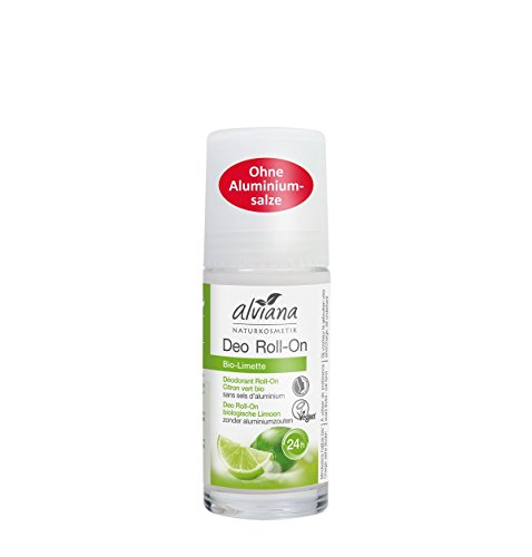 Alviana Naturkosmetik Deo Roll-On Bio-Limette 50 ml Natrue