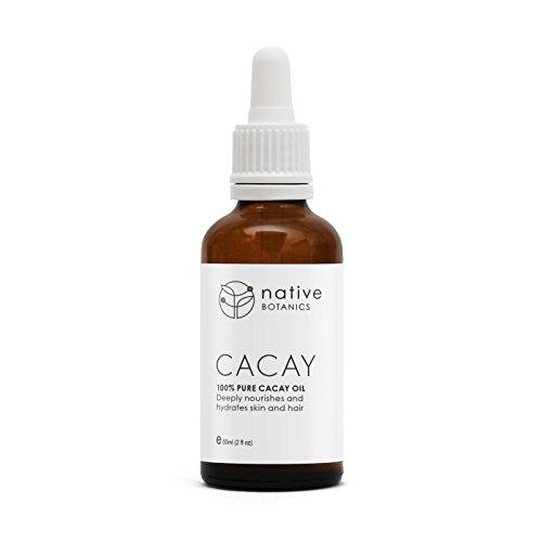 Native Botanics Huile de Cacay - 100% Naturel Huile de Cacay. Le meilleur anti vieillissement possible et anti rides huile pour le visage. Nourrit en profondeur la peau, les cheveux et les ongles.