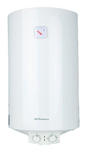 Orbegozo TRM 34 calentadory - Hervidor de agua (Vertical, Depósito (almacenamiento de agua), Sistema de calentador único, Interior, Eléctrico, Blanco)