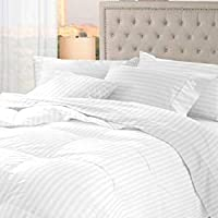 Daksh Cotton 300TC Duvet Cover (White)